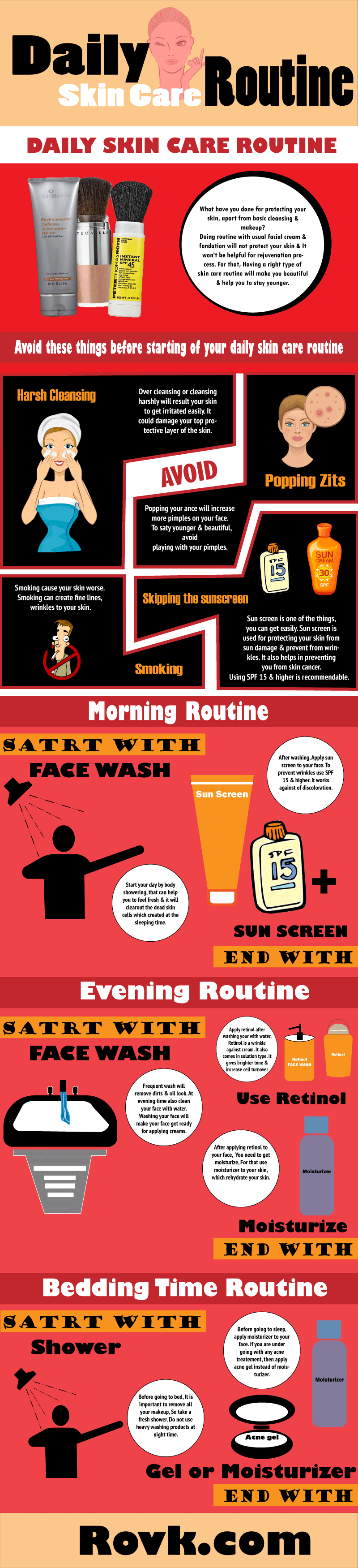 Daily Skin Care Routine